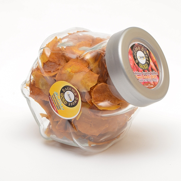Sweet potato Crisps in a Jar