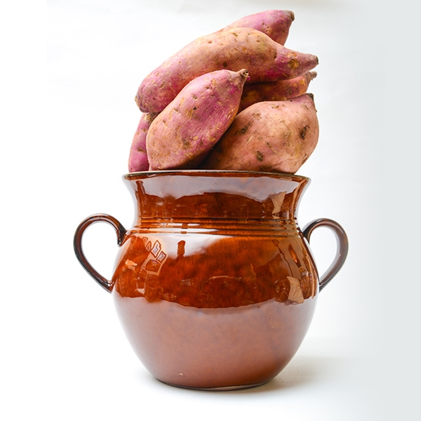 FRESH sweet potatoes in special POT 10kgs