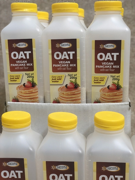OAT vegan PANCAKE MIX - 200g x 6 packs Box